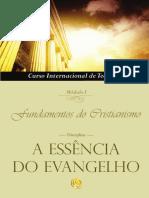 CIT Fundamentos Do Cristianismo Mod. I - A Essência Do Evangelho (Curso-Teologia-Religião-Livro)
