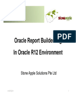 7. Oracle Report 10g Training