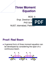 14 Three Moment Equation