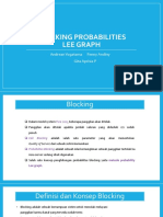 Blocking Probabilities Lee Graph