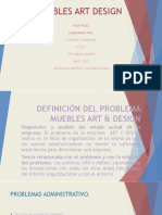 Definición Del Problema Muebles Art Design