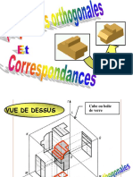 Projections Orthogonales Et Correspondances