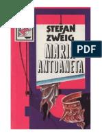 Stefan Zweig - Maria Antoaneta