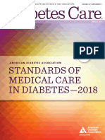 ADA 2018 Diabetes Care