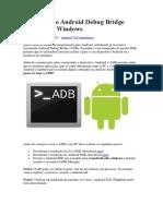 Como Usar o Android Debug Bridge