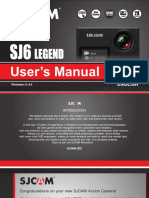 SJCAM SJ6-Legend User Manual 2017
