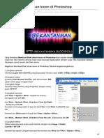 Bekantanman.blogspot.co.Id-Membuat Efek Tulisan Keren Di Photoshop