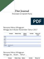 Diet Journal.pptx
