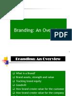 Branding an Overview