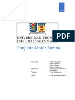 Informe Motor Electrico