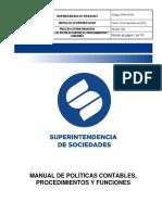 GFIN-M-004 Manual de Politicas Contable Procedimientos y Funciones