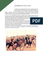09 de Diciembre Batalla de Ayacucho