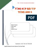 Tong Hop Bai Tap Tieng Anh Lop 6