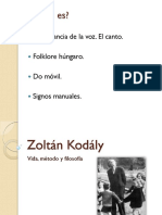 Zoltán Kodály (Presentación)