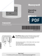 Honeywell Thermostat - TH8320Z (Owners Manual).pdf