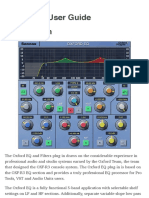 Oxford EQ User Guide