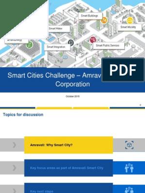 Amravati Smartcity Plan | Sanitation | Sewage