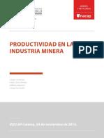 2.2 c Productividad en La Industria Minera
