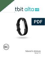 Fitbit Alta HR CZ Manual