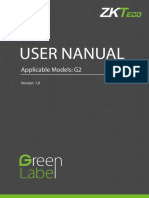 UserManual ZKT_G2
