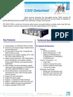 19.1 ZTE GPON OLT ZXA10 C320 Datasheet.pdf