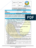 Manual de Funciones y Competencias Laborales