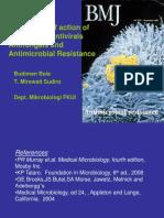 Biology Molecular, Resistance to Antibiotics and Antiviral (Khusus Palangkaraya 2011), Bahan Ujian Saja