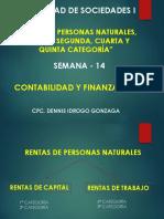 Semana 14 - Rentas Persona Natural