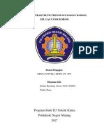 RKM 1743007 Praktikum Sel Galvanis Korosi