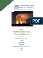 Introduccion y Propiedades Termodinámicas