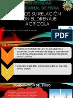 Riegos Su Relación Con El Drenaje Agrícola