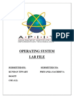 Operating system programs