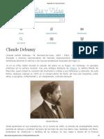 Biografia de Claude Debussy