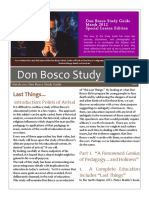 Don Bosco 2012 March DB Study Guide