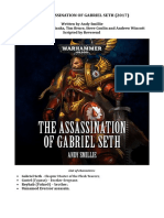 The Assassination of Gabriel Seth ENG