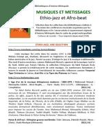 Musiques et métissages 1 _ Ethio-jazz et Afrobeat