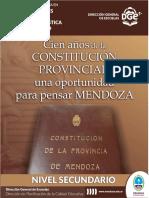 Centenario de La Constitución de Mendoza Nivel Secundario