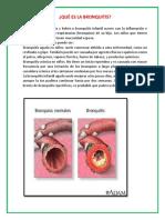 Qué Es La Bronquitis