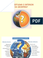 10.o Ano - Como Estudar o Interior Da Geosfera