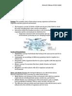 BIOLOGY Finals Study Guide