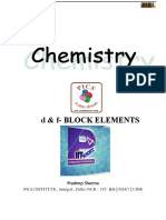 d&f Block Elements