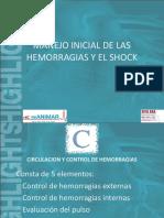 15 Manejo Inicial de Las Hemorragias y El Shock
