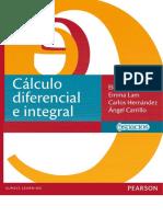 Cálculo Diferencial e Integral - Elena de Oteyza