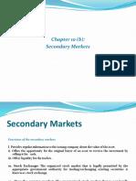 10. b Secondary Market