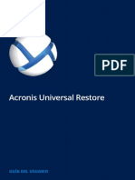 AcronisUniversalRestore Userguide Es-ES