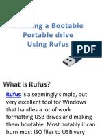 Creating a Bootable Pen Drive
