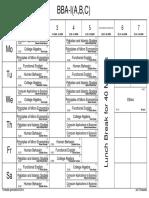 Fall2014- Timetable (BA-CS-EE) w.e.f August 04-2014 (CLASSWISE)