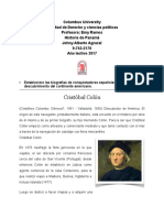 Biografias de colonizadores de España.