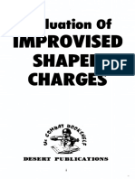Evaluation of Improvised Shaped Charges