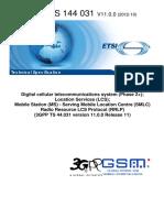 Ts_144031v110000p - Location Services (LCS)